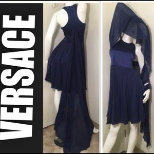 💎VERSACE SHAWL DRESS